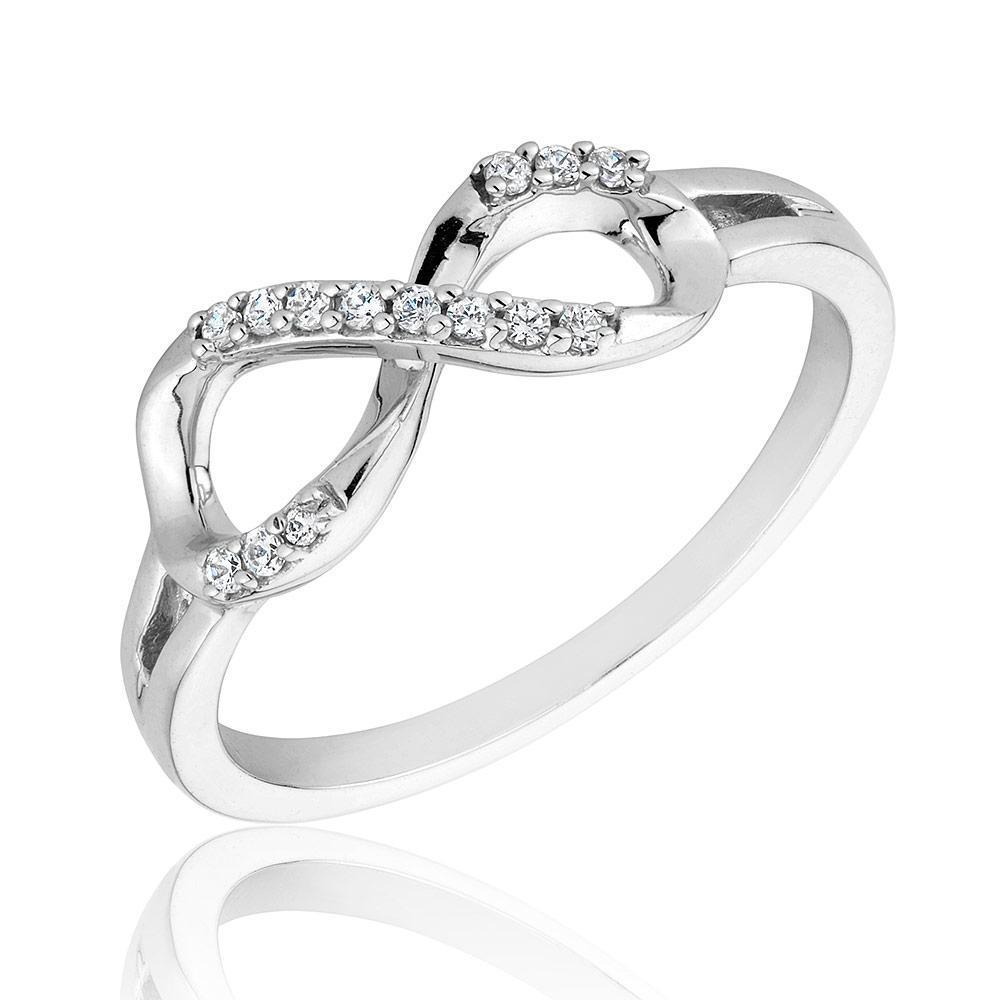 Infinity Engagement Ring Set Infinity diamonds