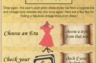 BE UNIQUE WITH A VINTAGE STYLE PROM DRESS